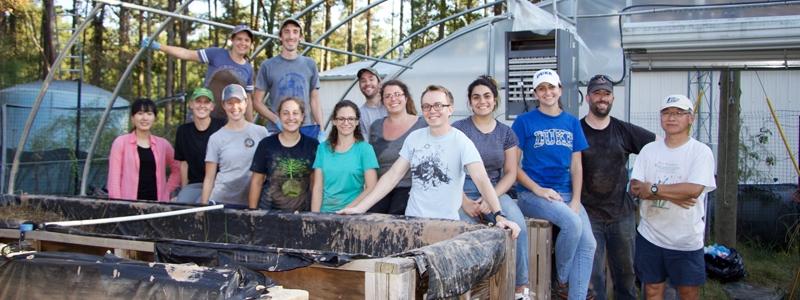 CEINT Scholars wrap up mesocosm experiment